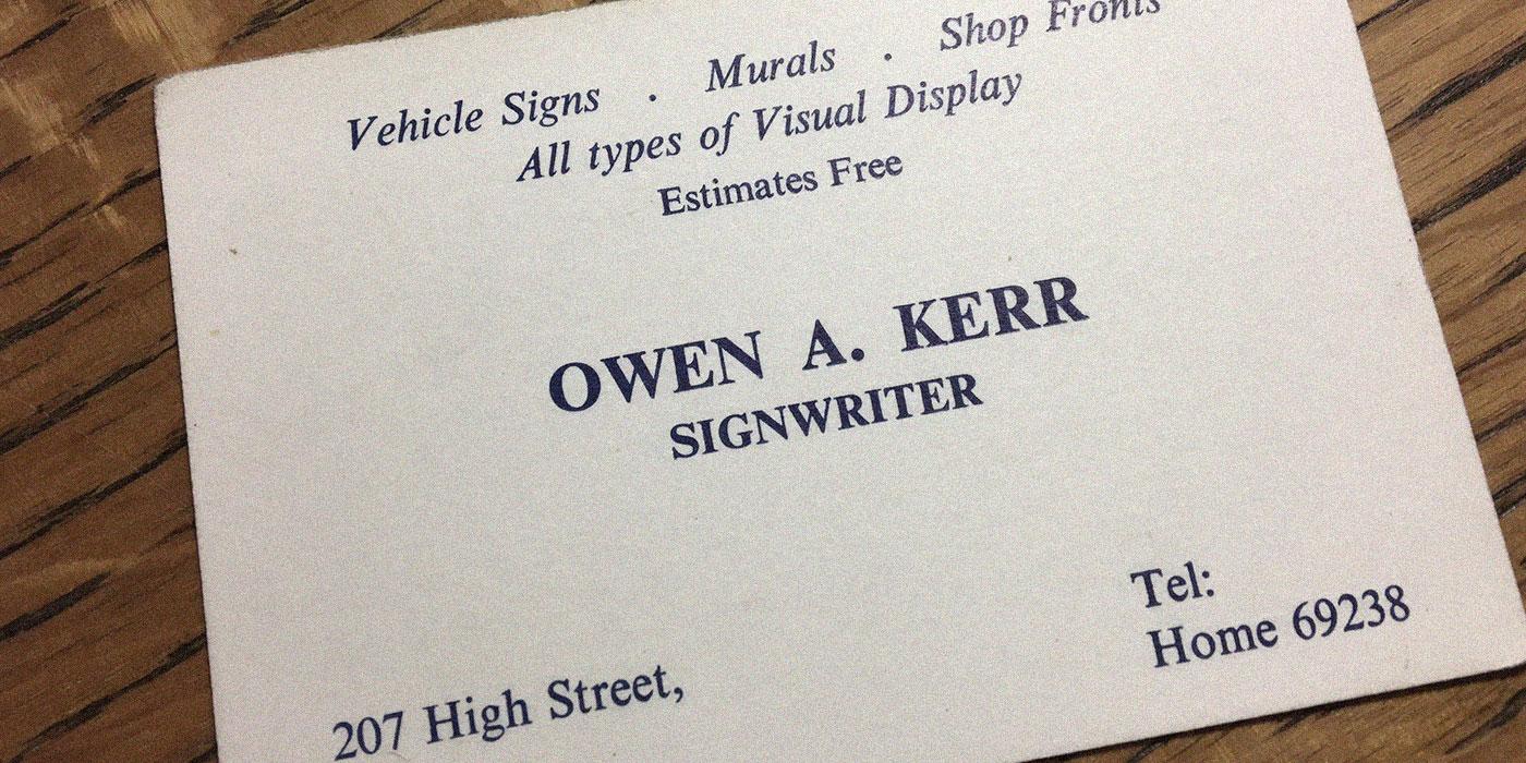 owen-kerr-signs-graphics-ayrshire-history-1982